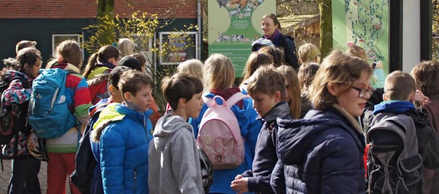 Angebot Führung für Schulklassen